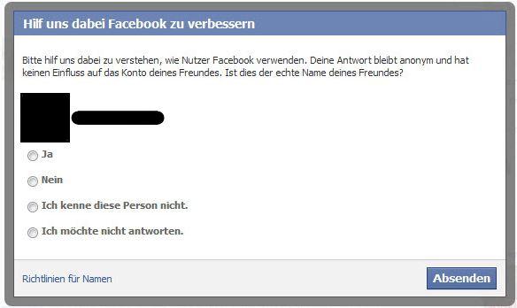 facebook ist das der echte name deines freundes